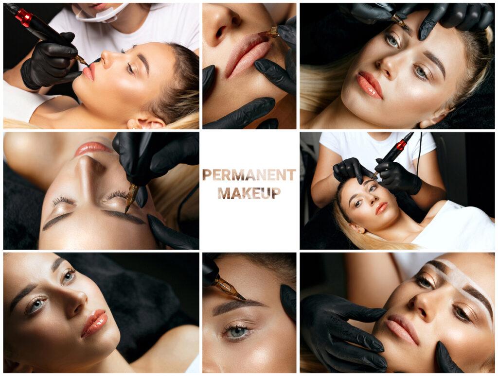 permanent makeup - lip liner and lip blush